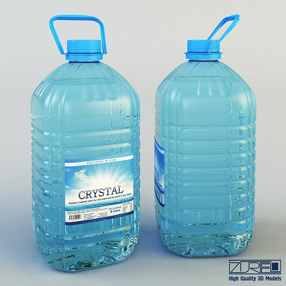 Water bottle 5 liter - 3DOcean Item for Sale