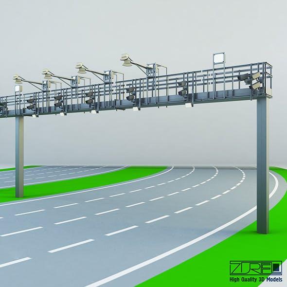 Multi lane free flow MLFF
