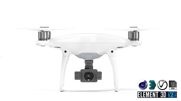 DJI Phantom 4 Pro - 3DOcean Item for Sale
