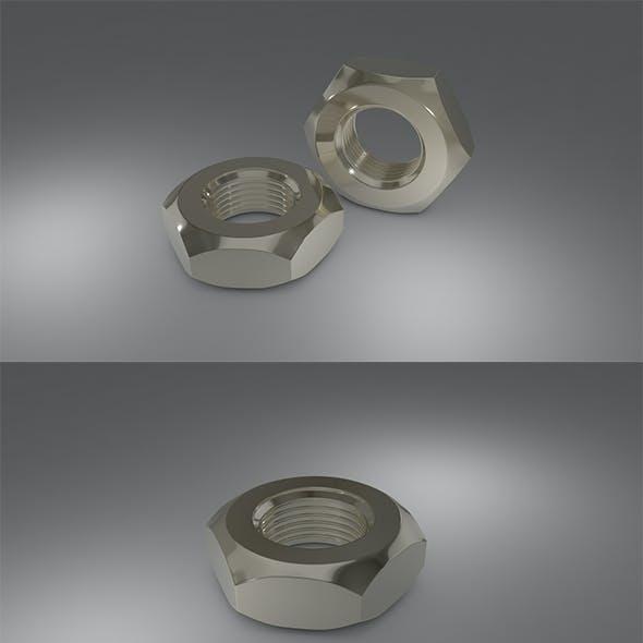 3D Steel Hex Nute