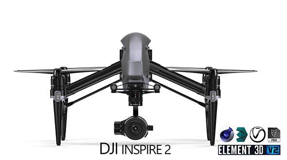 DJI Inspire 2 - 3DOcean Item for Sale