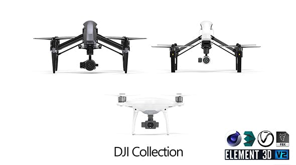 DJI Collection - 3DOcean Item for Sale
