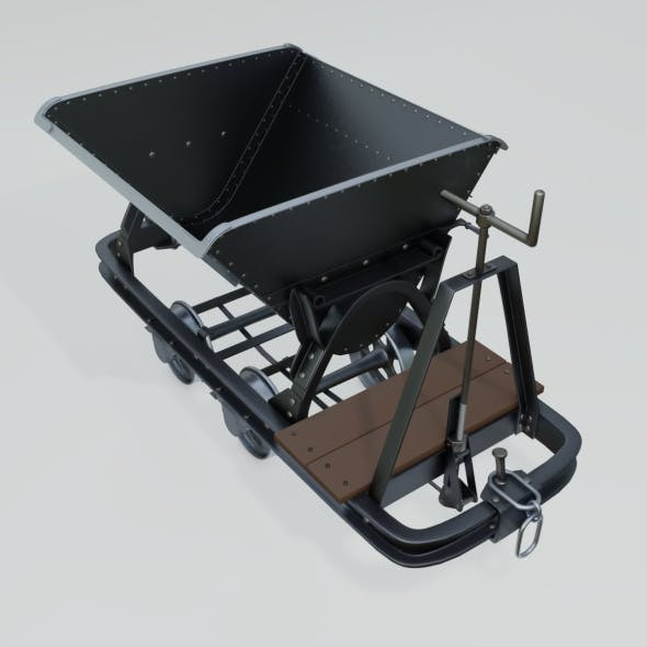 Mining Wagon - 3DOcean Item for Sale