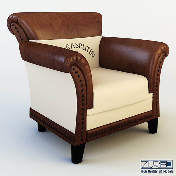 Club chair patti - 3DOcean Item for Sale