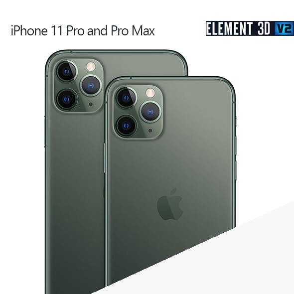 iPhone 11 Pro & Pro Max - Element 3D