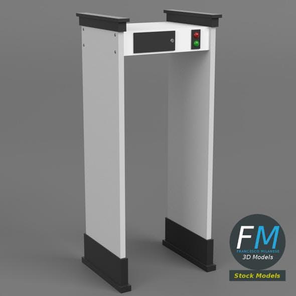 Airport metal detector - 3DOcean Item for Sale