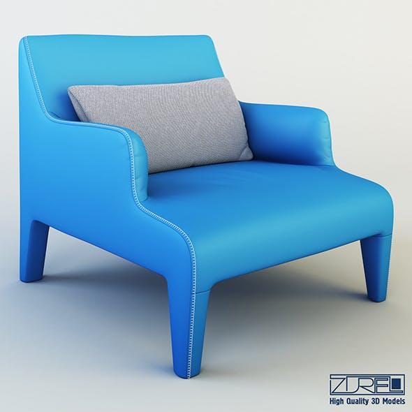 Frida armchair - 3DOcean Item for Sale