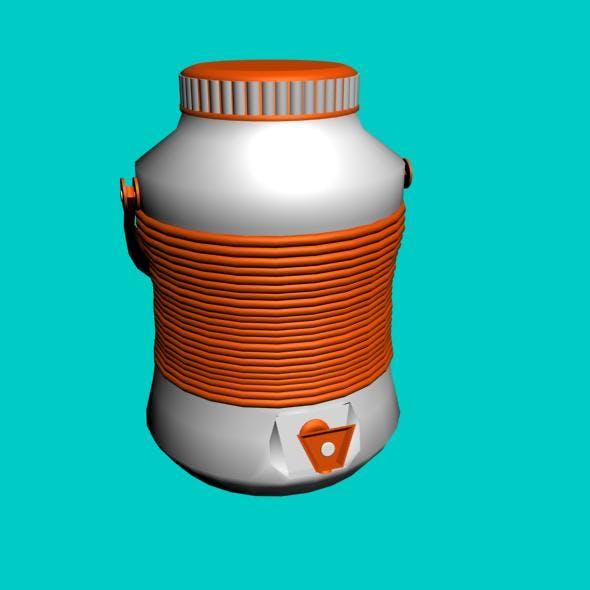 3d water cooler - 3DOcean Item for Sale