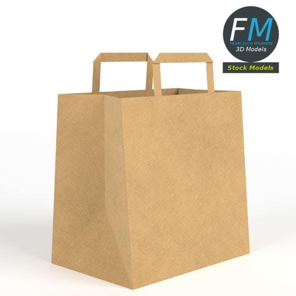 Fast food paper bag - 3DOcean Item for Sale