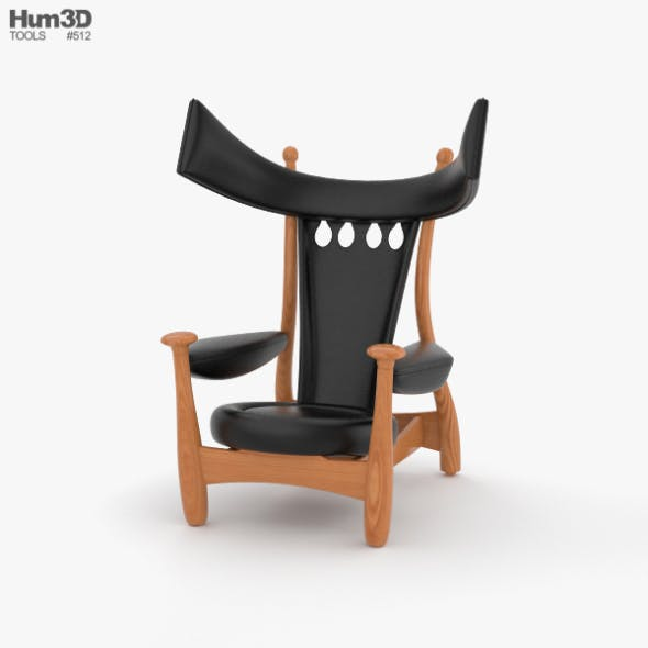 Sergio Rodrigues Chair - 3DOcean Item for Sale