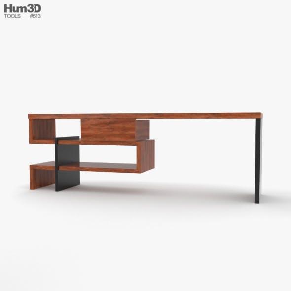 Boa Concept Desk - 3DOcean Item for Sale