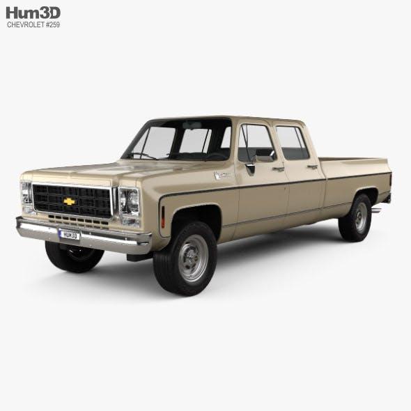 Chevrolet K30 Crew Cab 1979 - 3DOcean Item for Sale