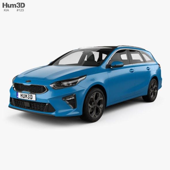 Kia Ceed sportswagon 2018 - 3DOcean Item for Sale