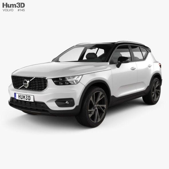 Volvo XC40 T5 R-Design 2018 - 3DOcean Item for Sale