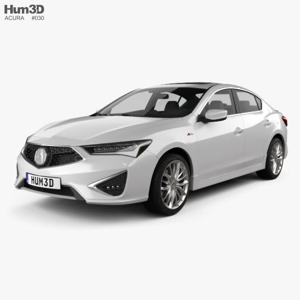 Acura ILX A-spec 2019 - 3DOcean Item for Sale