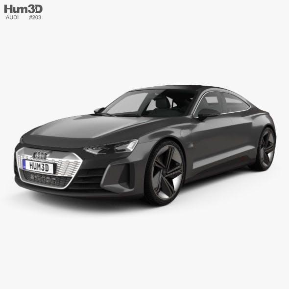 Audi e-tron GT 2018 - 3DOcean Item for Sale