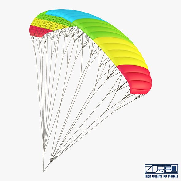 Paraglider v 2 - 3DOcean Item for Sale