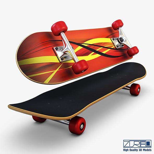 Skateboard v 1 - 3DOcean Item for Sale