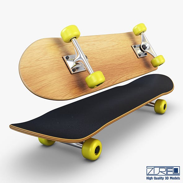 Skateboard v 2 - 3DOcean Item for Sale