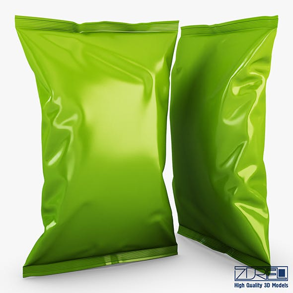 Food packaging v 2 - 3DOcean Item for Sale