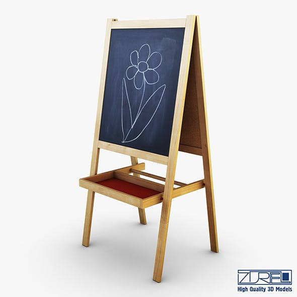 IKEA Mala Easel - 3DOcean Item for Sale