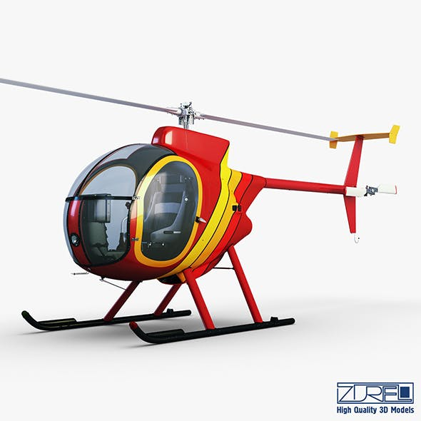Revolution Mini-500 - 3DOcean Item for Sale