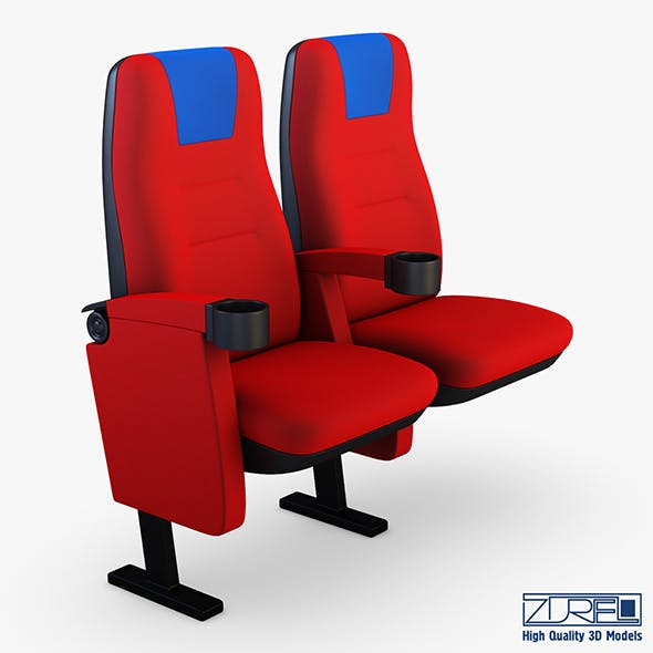Cinema chair v 1 - 3DOcean Item for Sale