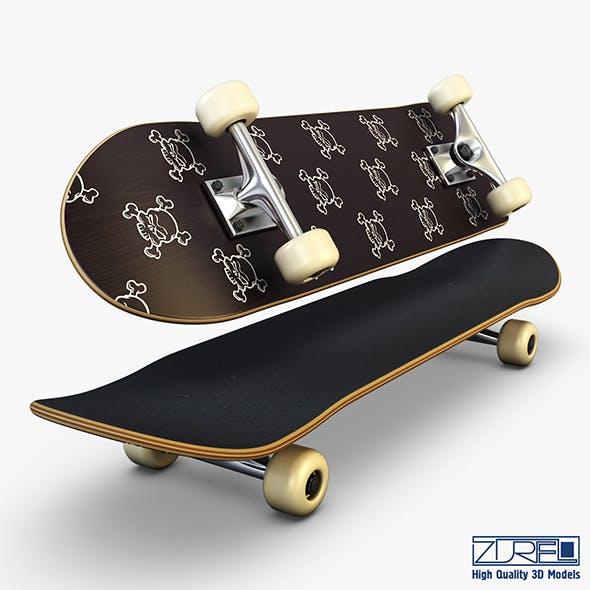 Skateboard v 4 - 3DOcean Item for Sale