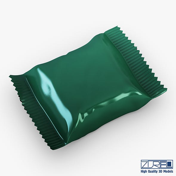 Candy wrapper v 6 - 3DOcean Item for Sale