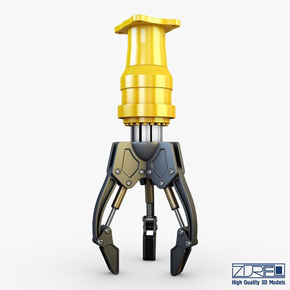 Hydraulic grab v 2 - 3DOcean Item for Sale