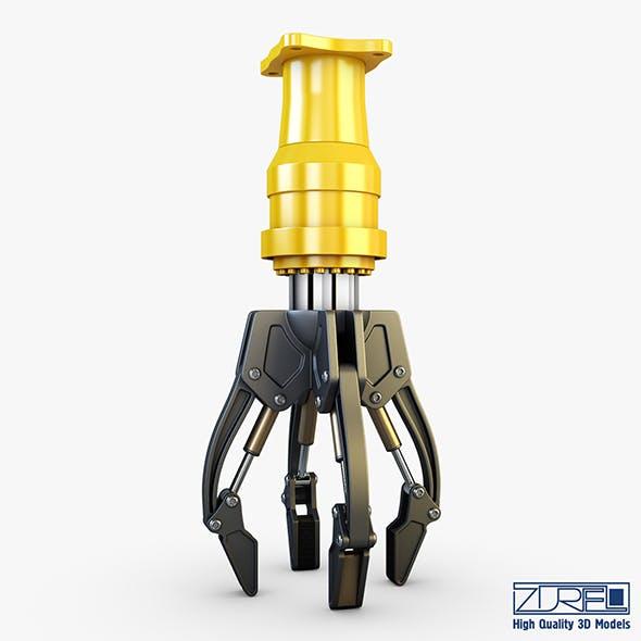 Hydraulic grab v 3