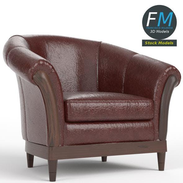 Armchair 4 (Chesterfield) - 3DOcean Item for Sale