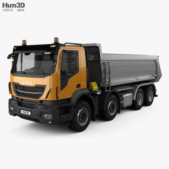Iveco Stralis X-WAY Tipper Truck 2017 - 3DOcean Item for Sale