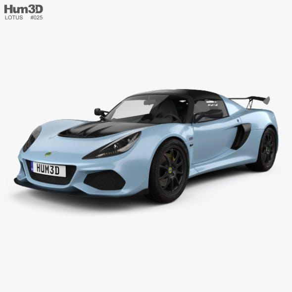 Lotus Exige Sport 410 2018 - 3DOcean Item for Sale
