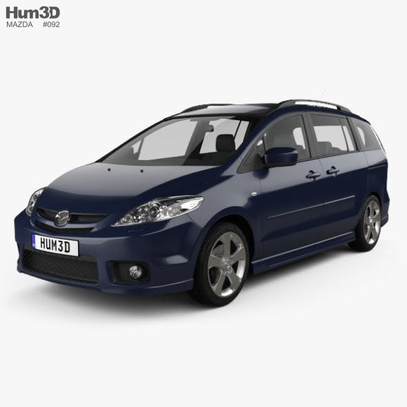 Mazda 5 Sport 2005 - 3DOcean Item for Sale