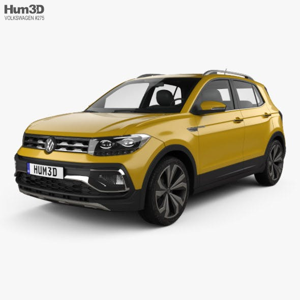 Volkswagen T-Cross 280 CN-spec 2019 - 3DOcean Item for Sale