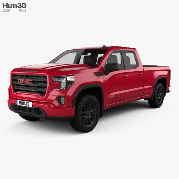 GMC Sierra 1500 Double Cab Standard Box Elevation 2019