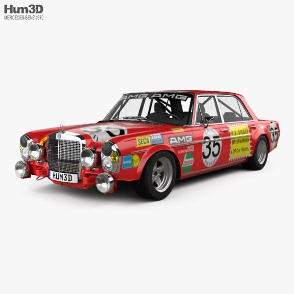 Mercedes-Benz 300 SEL AMG Red Pig 1969 - 3DOcean Item for Sale