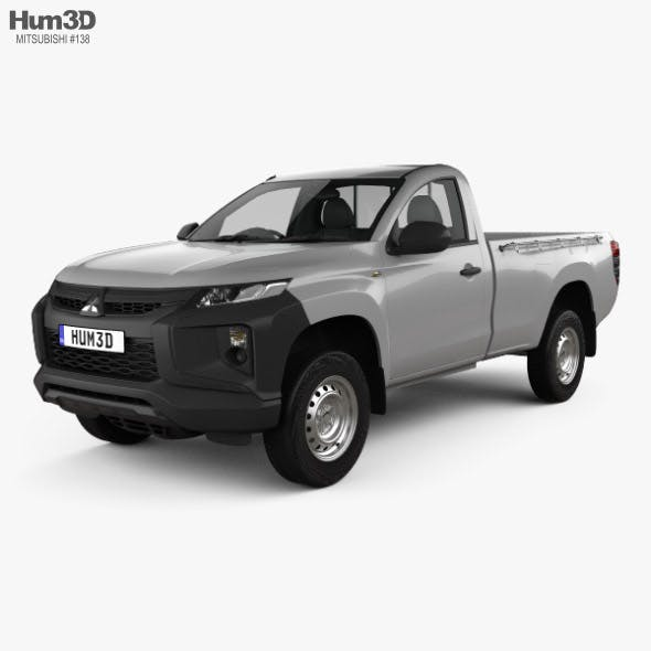 Mitsubishi Triton Single Cab 2019 - 3DOcean Item for Sale