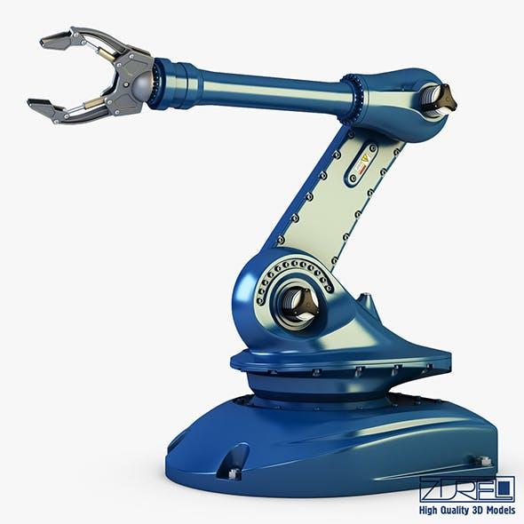 Industrial robot v 2 - 3DOcean Item for Sale