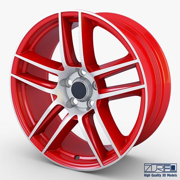 Boss 302 19 Laguna Seca wheel red - 3DOcean Item for Sale