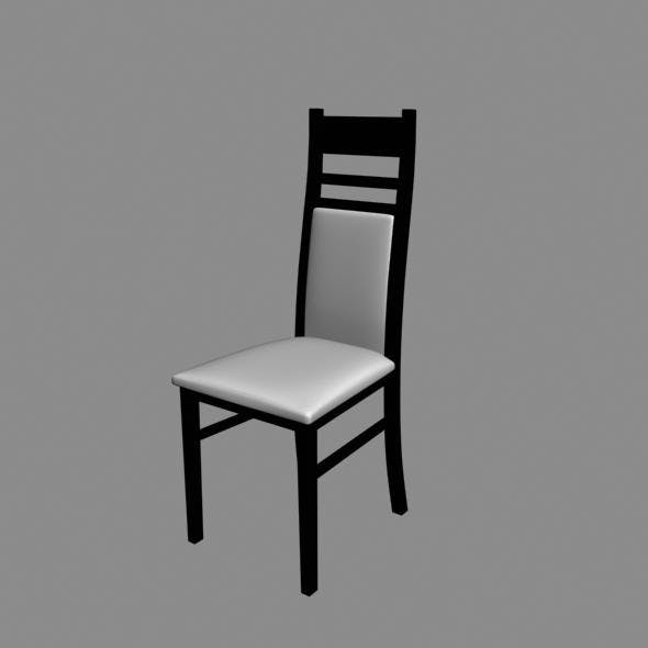 Home Chair - 3DOcean Item for Sale