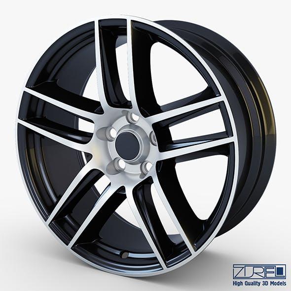Boss 302 19 Laguna Seca wheel black - 3DOcean Item for Sale