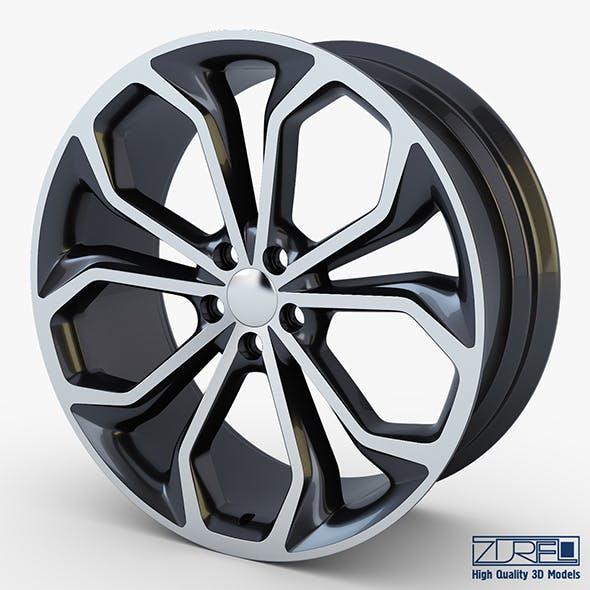 Taurus SHO 20 Machined wheel black v 1