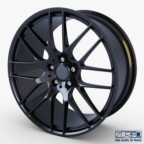 Style 359M wheel black Mid Poly