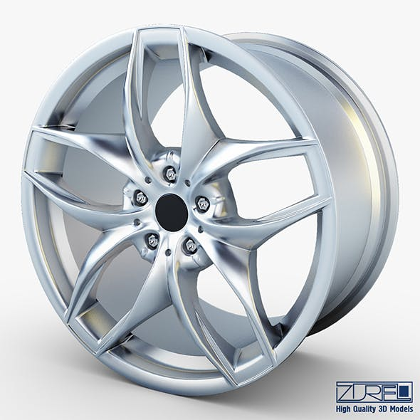 Style 215 wheel silver Mid Poly