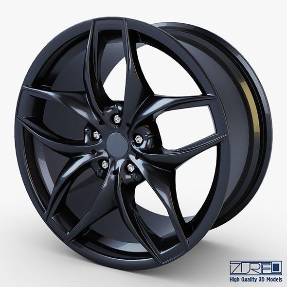 Style 215 wheel black Mid Poly