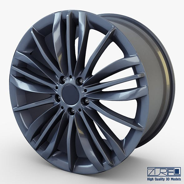 Style 332 wheel ferric gray Mid Poly