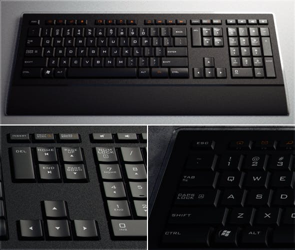 Wireless Keyboard - 3DOcean Item for Sale