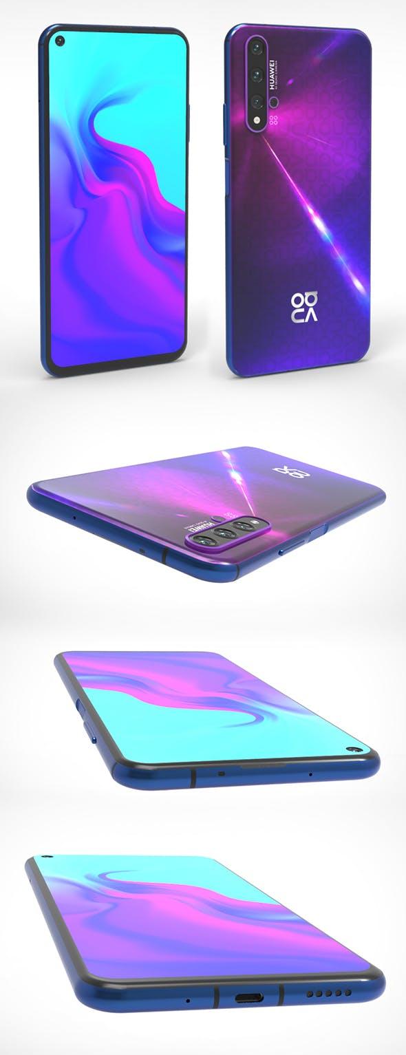 Huawei Nova 5T - 3DOcean Item for Sale
